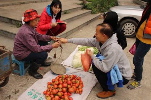 暨大学生帮村民建微信平台卖菜 - 第2张  | 云快卖新手学院